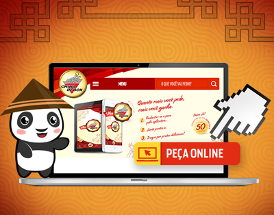 Pedidos On-line da rede de franquias China In Box