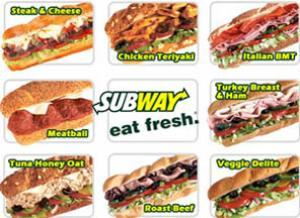 Subway a day