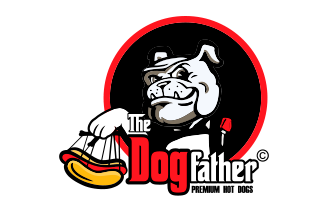 The Dogfather Premium Hotdogs.