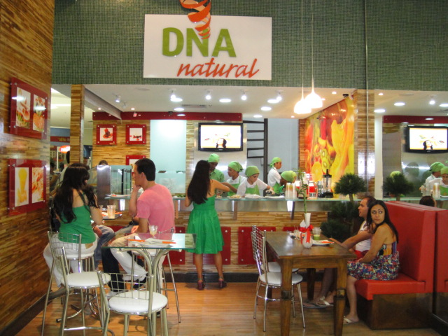 Franquia DNA Natural